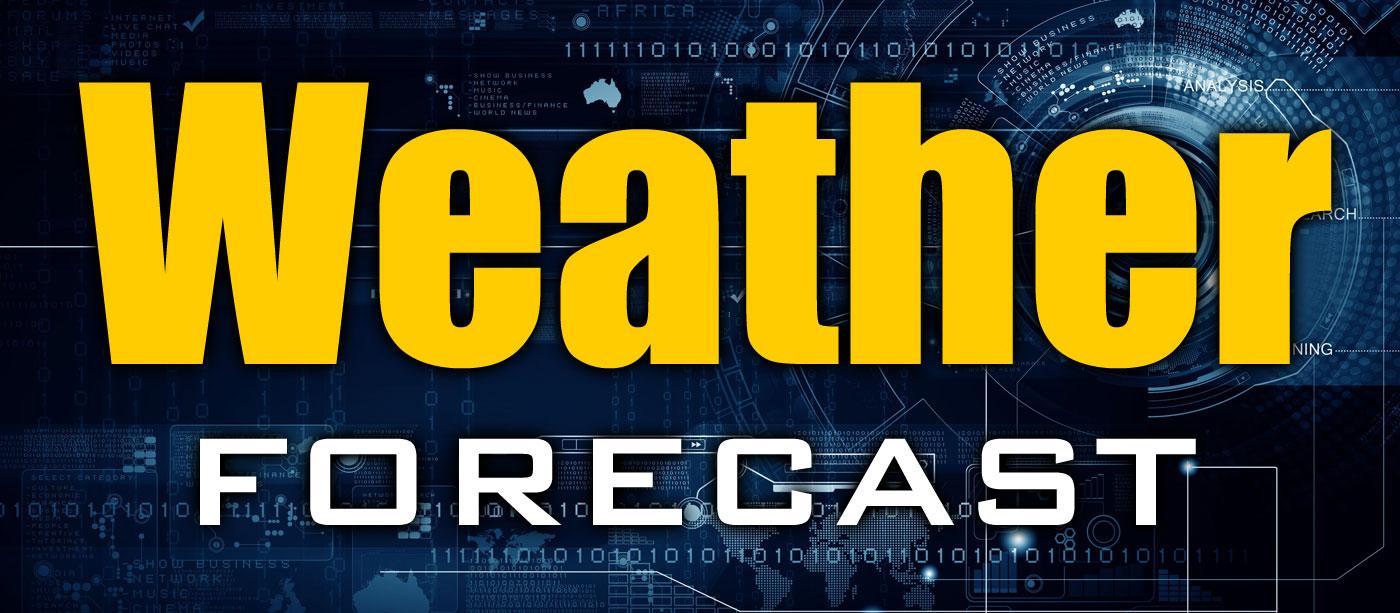 Weather Forecast from Bob Kucken