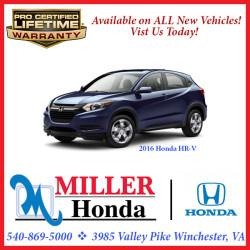 Miller Honda - Honda HR-V